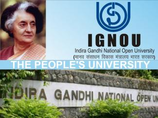 IGNOU - Indira Gandhi National Open University